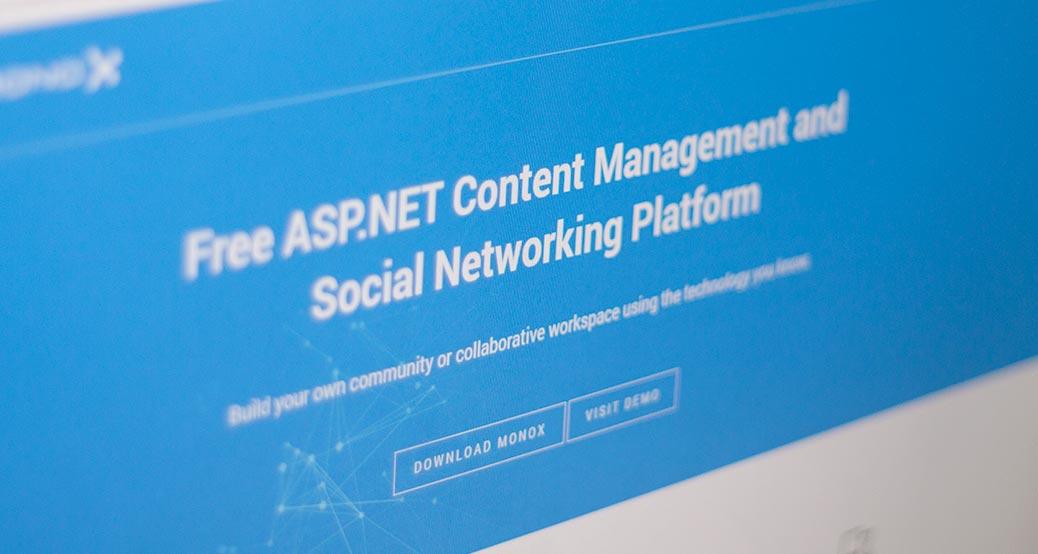 MonoX - ASP NET CMS and Social Networking Platform